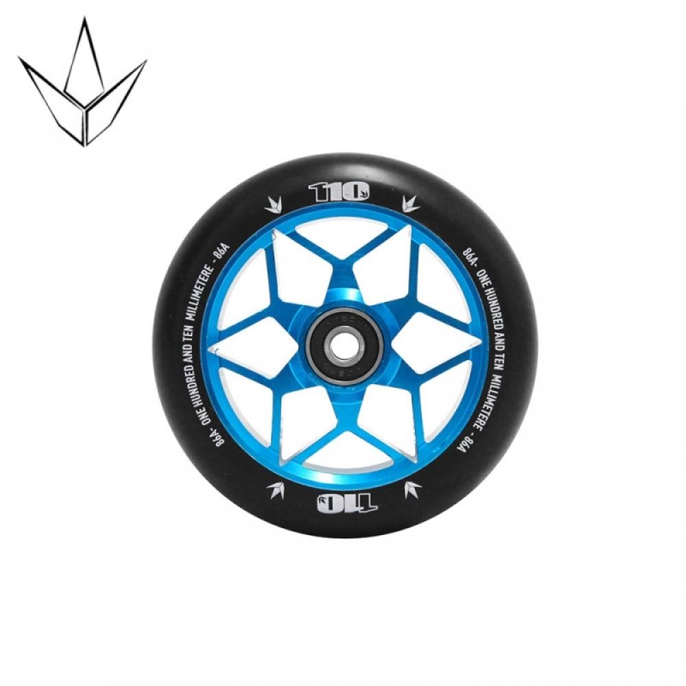 Blunt diamond hjul 110 mm teal