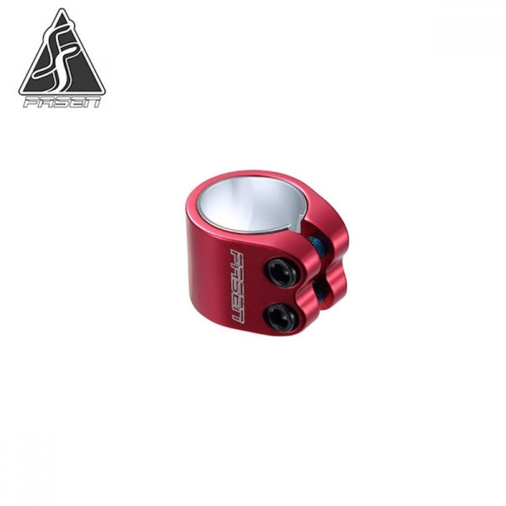 Fasen 2 bolt clamp rød