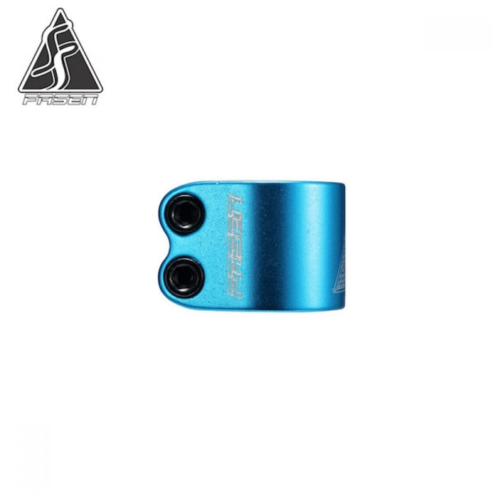 Fasen 2 bolt clamp teal