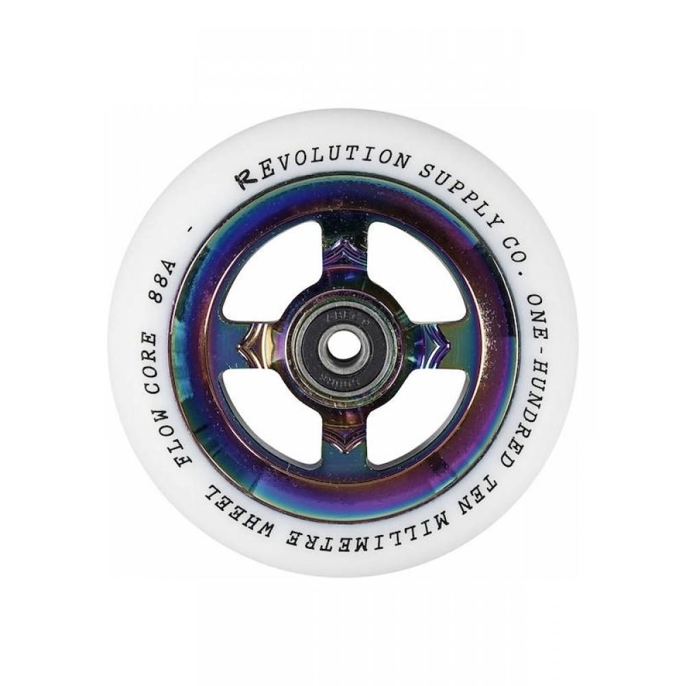 Revolution Supply Flow hjul hvid PU neochrome kerne