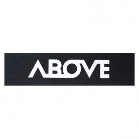 Above big logo griptape