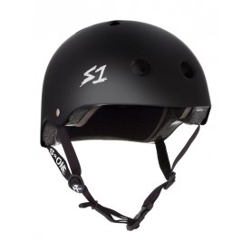 S1 Lifer skate helmet mat black
