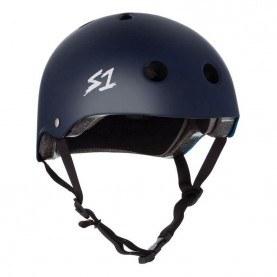 S1 Lifer skate helmet mat blue