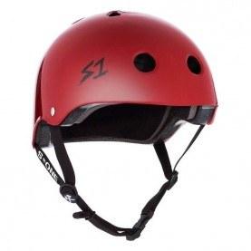 S1 Lifer skate helmet mat red