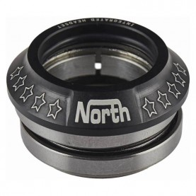 North integrated headset løbehjul