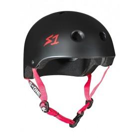 S1 Lifer skate helmet red straps