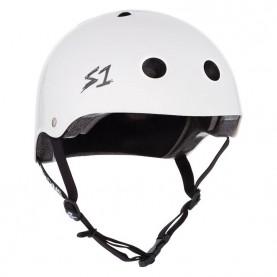 S1 Lifer skate helmet white